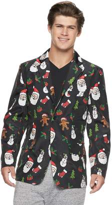 Men's Christmas Icons Blazer