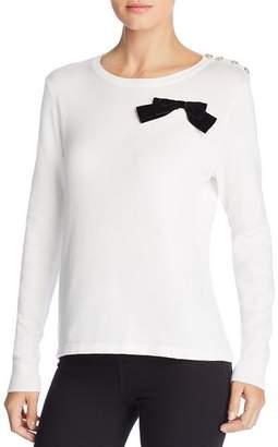 Karl Lagerfeld Paris Embellished Sweater