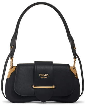 b4be2e8b9537e9 Prada Saffiano Leather Top Handle Bag