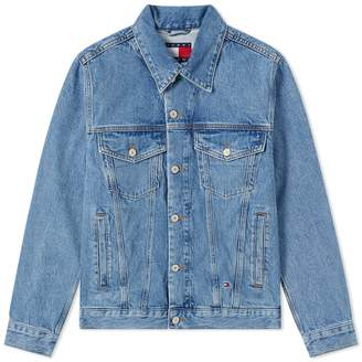 Tommy Jeans 5.0 90s Logo Denim Jacket