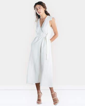 Dusk Til Dawn Wrap Dress