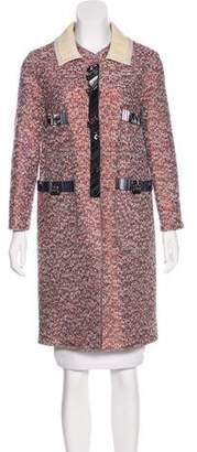 Marc Jacobs Metallic Tweed Coat