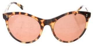 Illesteva Claire Tortoiseshell Sunglasses