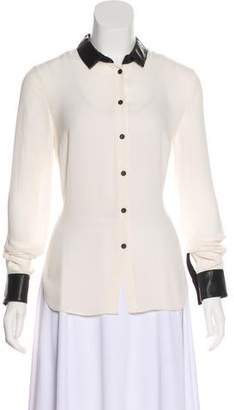 Yigal Azrouel Cut25 by Casual Button-Up Top