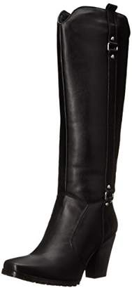 "Ride Tec Women's 8625 20"" Heeled Biker Boot Work"