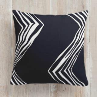 Diagonals in Chevron Square Pillow