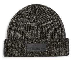John Varvatos Textured Knit Beanie