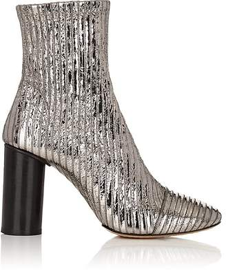 Isabel Marant Women's Rillyan Metallic Leather Ankle Boots