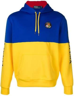 Polo Ralph Lauren colour block hoodie
