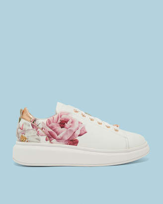 Ted Baker AILBE2 Printed chunky lace up trainers