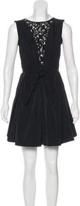 Nina Ricci A-Line Mini Dress