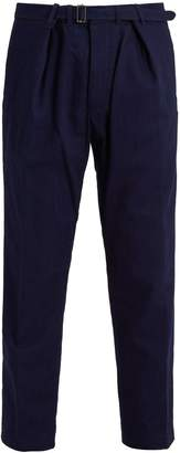 Haider Ackermann Mid-rise straight-leg denim trousers