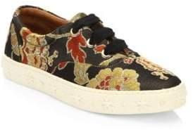 Aquazzura Crosby Floral Sneakers