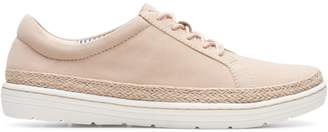 Clarks Collection By Marie Mist Lace-Up Suede Sneakers