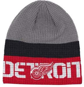 Reebok Detroit Red Wings Knit Beanie