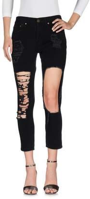 Reverse Denim trousers