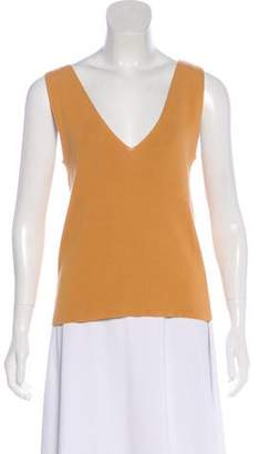 Salvatore Ferragamo Knit Sleeveless Top