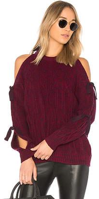 NAADAM Cold Shoulder Cashmere Sweater