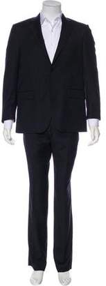 Burberry Wool Pinstriped Suit w/ Tags