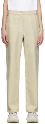 Our Legacy Beige Workwear Trousers