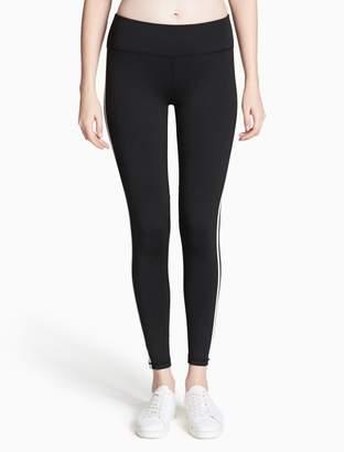 Calvin Klein reflect stripe mesh leggings