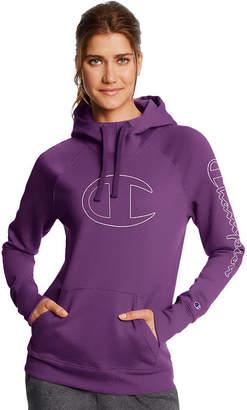 Champion Fleece Po Hoodie Gc Long Sleeve Hooded Neck T-Shirt-Womens
