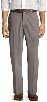 ST. JOHN'S BAY Easy-Care Classic Flat-Front Pants