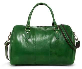 Persaman New York Mariano Colorblock Italian Leather Duffel