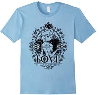 Disney Frozen Elsa Love Thaws Everything Graphic T-Shirt