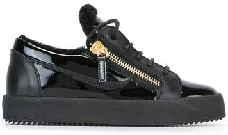 Giuseppe Zanotti Design shearling 'Nicki' sneakers