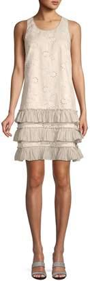 Rebecca Taylor Eyelet Shift Dress