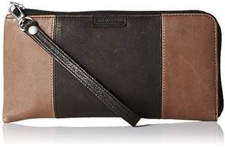 Ellington Leather Goods EVA Large Colorblock Zip LR Wallet