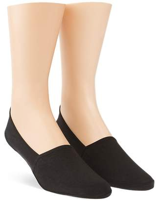 Calvin Klein No Show Liner Socks, Pack of 2 $20 thestylecure.com