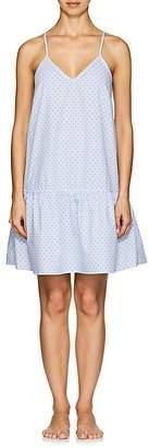 The Sleep Shirt Women's Striped Cotton Nightgown