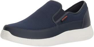 Skechers Men's Depth Charge Flish Loafer, Black, 9 2E US