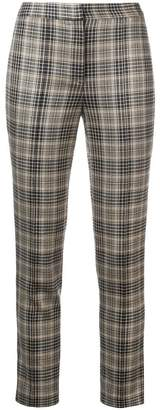 ADAM by Adam Lippes plaid fitted trousers