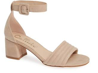 Callisto Puffye Ankle Strap Sandal