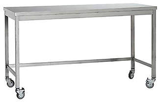Design Within Reach Quovis Standing-Height Table, Silver