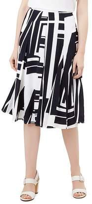 Hobbs London HOBBS Tahlia Geometric Print Skirt