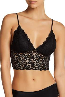 Free Press Longline Lace Bralette