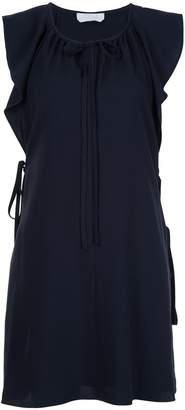 Chloé ruffled sleeveless dress