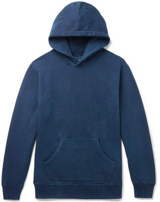 Blue Blue Japan Fleece-Back Cotton-Jersey Hoodie