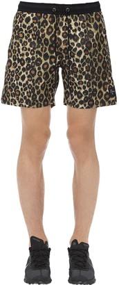 Victoria's Secret The People JAGUAR PRINT EASY BOARDIE SHORTS
