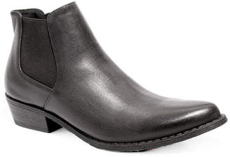 Two Lips Womens Reggie Cowboy Boots Stacked Heel