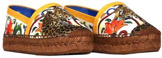 Dolce & Gabbana Espadrilles In Printed Cotton