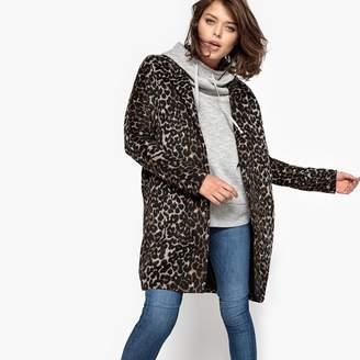 School Rag Leopard Print Coat