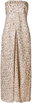 Zimmermann leopard print sleeveless dress