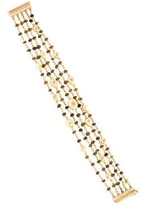 Marco Bicego 18K Tourmaline & Citrine Bead Bracelet