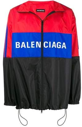 Balenciaga color block tracksuit jacket