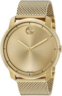 Movado Men's Swiss Quartz Tone and Plated Automatic Watch(Model: 3600373)